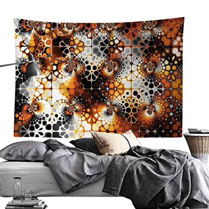 Amazon.com: Maureen Austin Cool Tapestries,Burnt Orange ...
