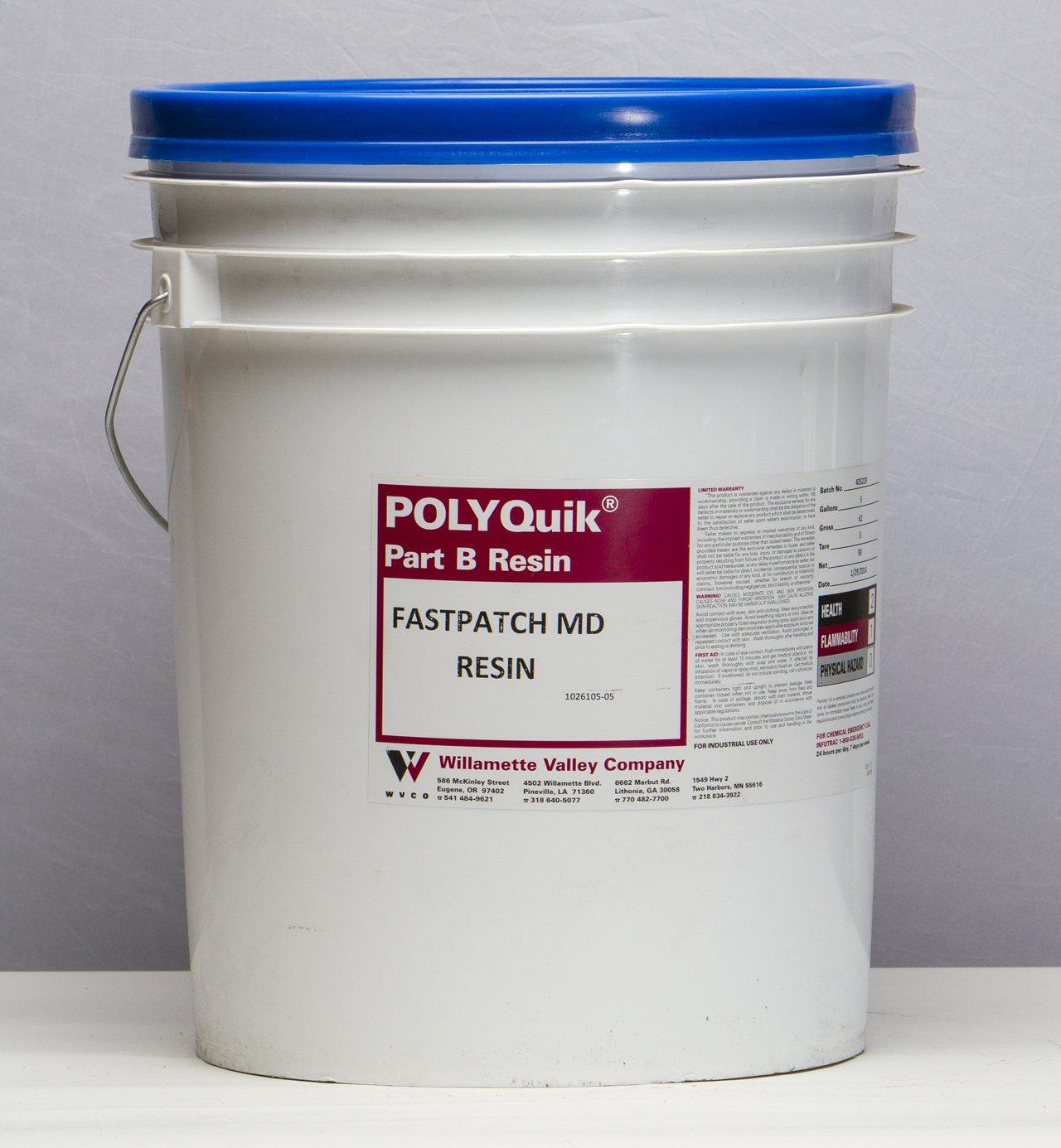 FASTPATCH MD Gray (RESIN) 5-Gal Meter Dispensed Elastomeric Polymer