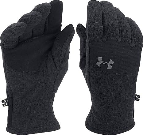 Amazon.com   Under Armour Men s ColdGear Infrared Fleece Gloves ... 35d8306761a7