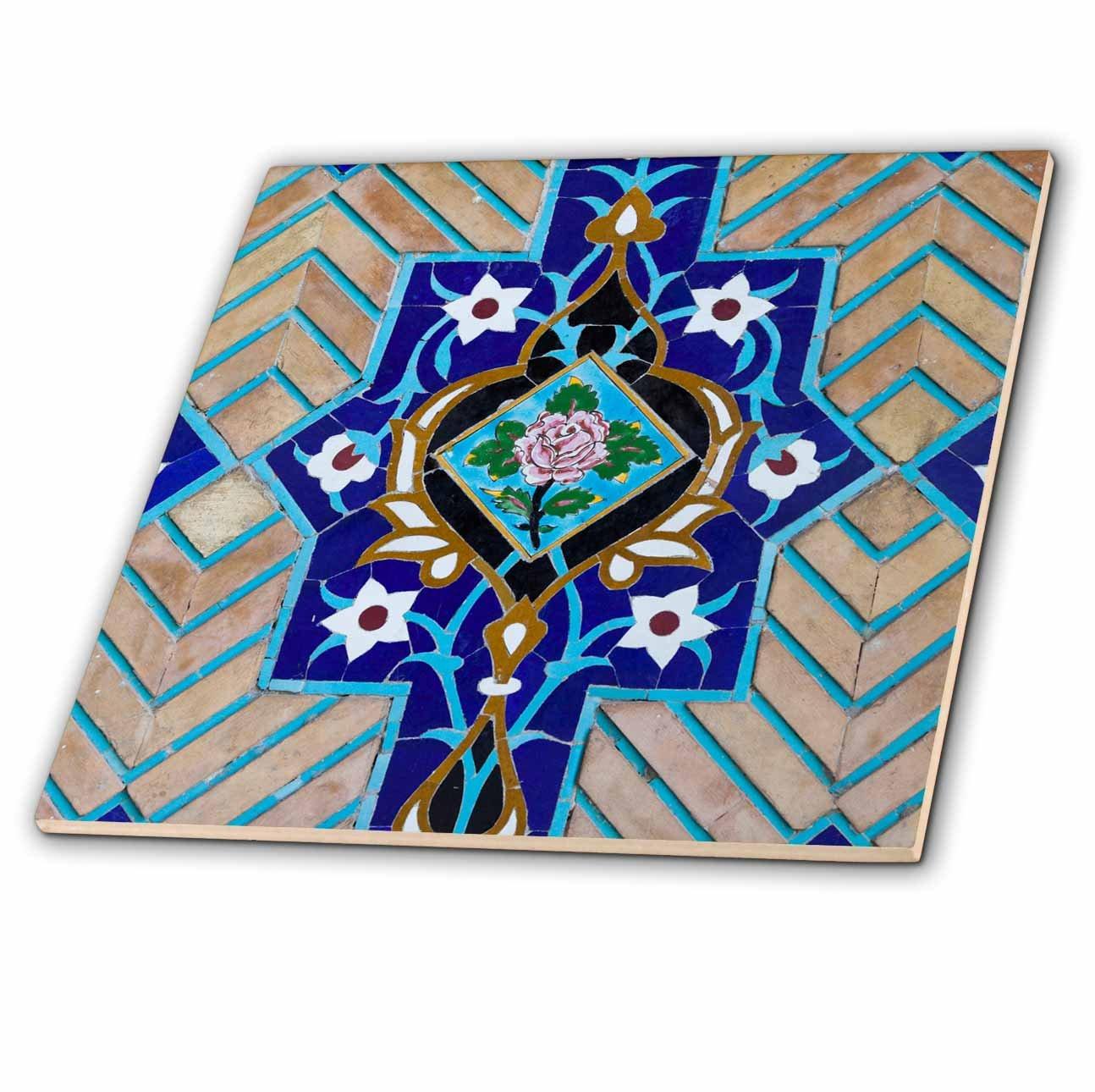 3dRose Danita Delimont - Artwork - Iran, Tehran, Niyavaran Palace Complex, Palace Of The Last Shah. - 8 Inch Glass Tile (ct_276823_7)