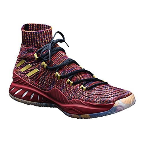 check out 0f159 9c051 adidas Crazy Explosive Primeknit Vegas Shoe Men s Basketball 8.5  Maroon-Multicolor