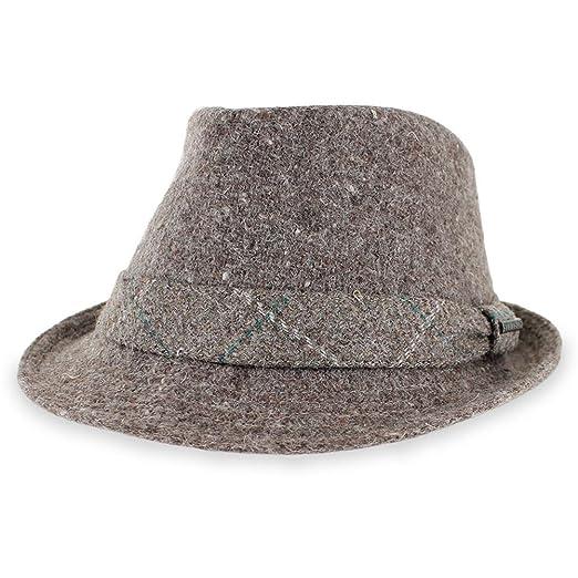Stetson Men s Italian Fabric Fedora Hat at Amazon Men s Clothing store  dbed8ea9532