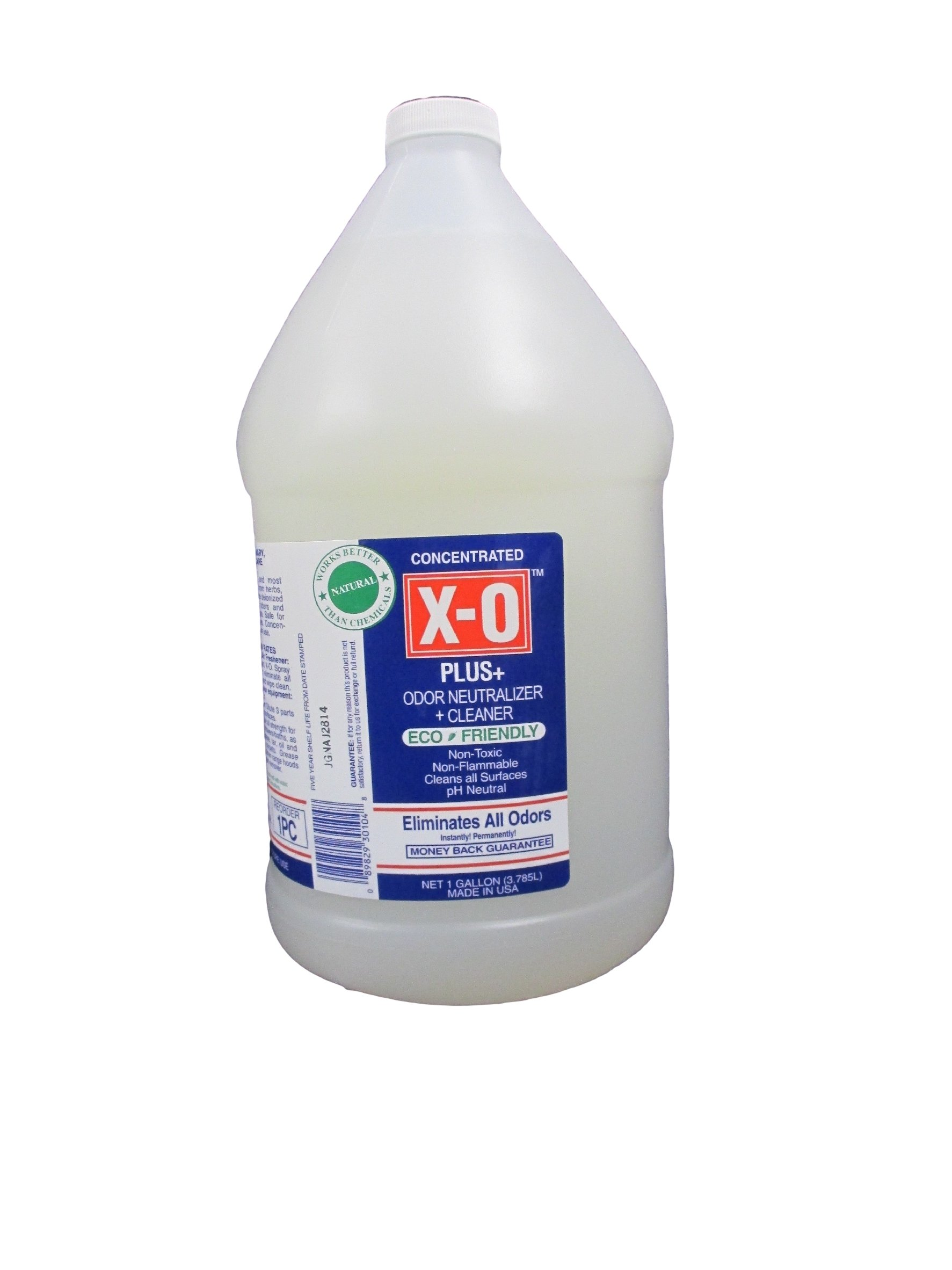 X-O Plus Odor Neutralizer/Cleaner Concetrate, 1-Gallon
