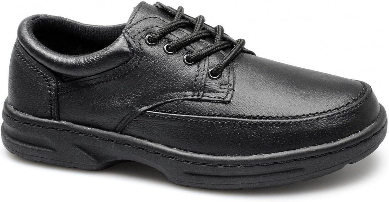 Dr Keller Brian 3 Caballeros Cuero Con Cordones Horma Ancha Zapatos Topo