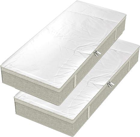 4 x Unterbett Aufbewahrung Unterbettkommode Unterbettaufbewahrung Unterbett Box