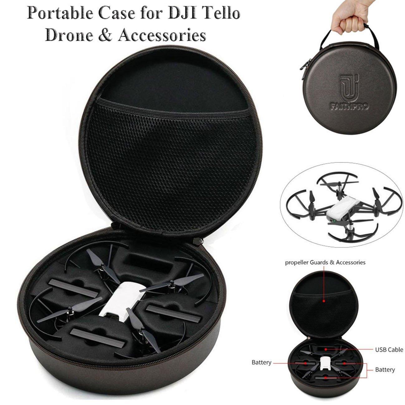 Crazepony-UK DJI Tello Drone Portable Estuche,Carrying Case Bag ...