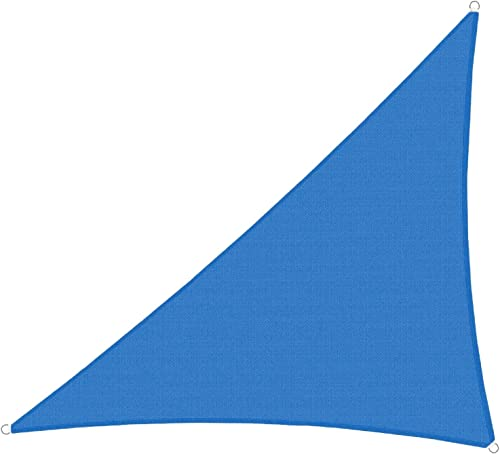 TANG Sun Shades Depot Blue 13'x27'x30' Right Triangle Sun Shade Sail Canopy Square 180 GSM Shade Sail UV Block