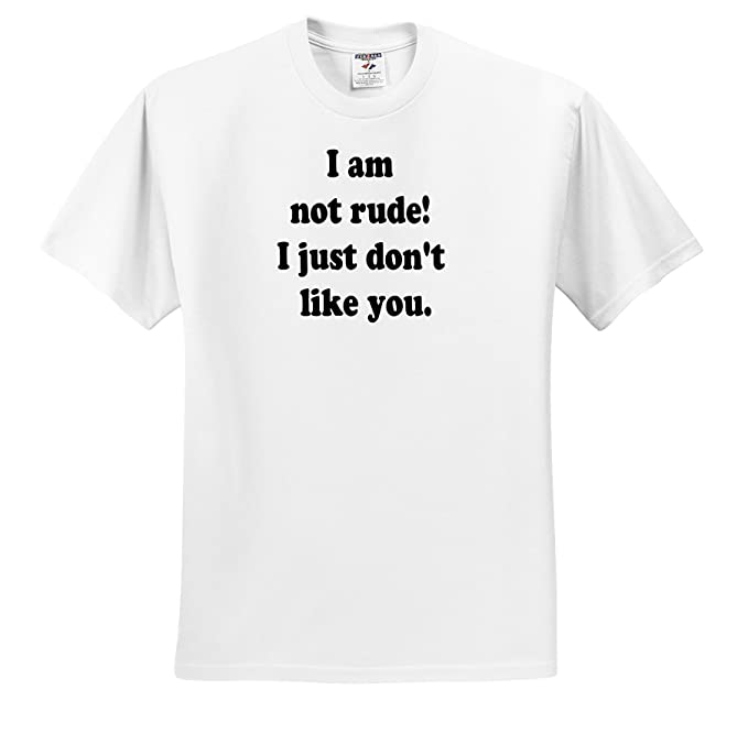 Amazoncom 3drose Sandy Mertens Funny Quotes I Am Not Rude T