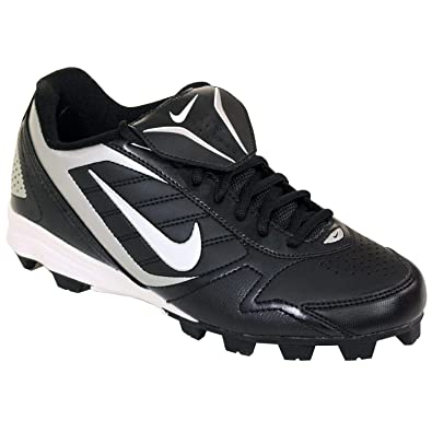 addaf63b5c44 Image Unavailable. Image not available for. Color: NIKE Men's Keystone Low  375760 011 Black White Baseball Cleat
