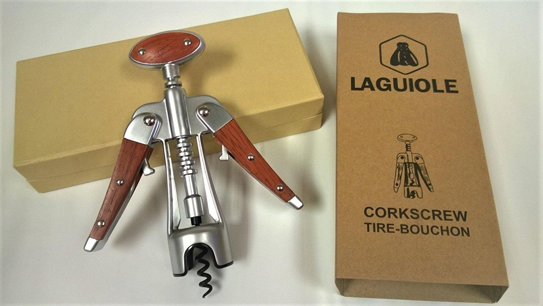 Laguiole Deluxe Wing Corkscrew Tire-Bouchon