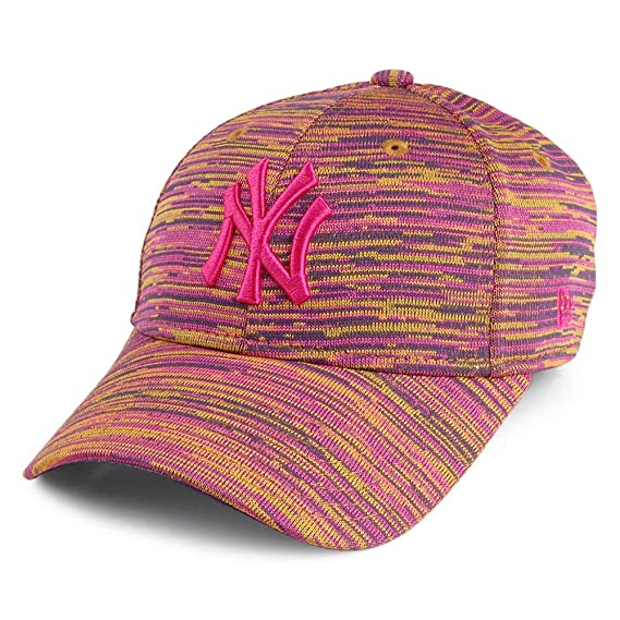 8570fce8b84ff New Era Casquette Femme 9FORTY Engineered Fit New York Yankees Multicolore  Ajustable: Amazon.fr: Vêtements et accessoires