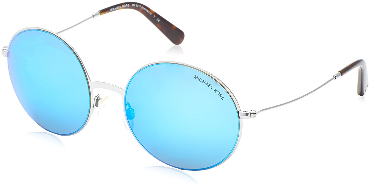 d378ce413a39c Michael Kors Kendall II Sunglasses in Silver Teal Mirror MK5017 100125 55 55  Teal Mirror  Michael Kors  Amazon.ca  Luggage   Bags
