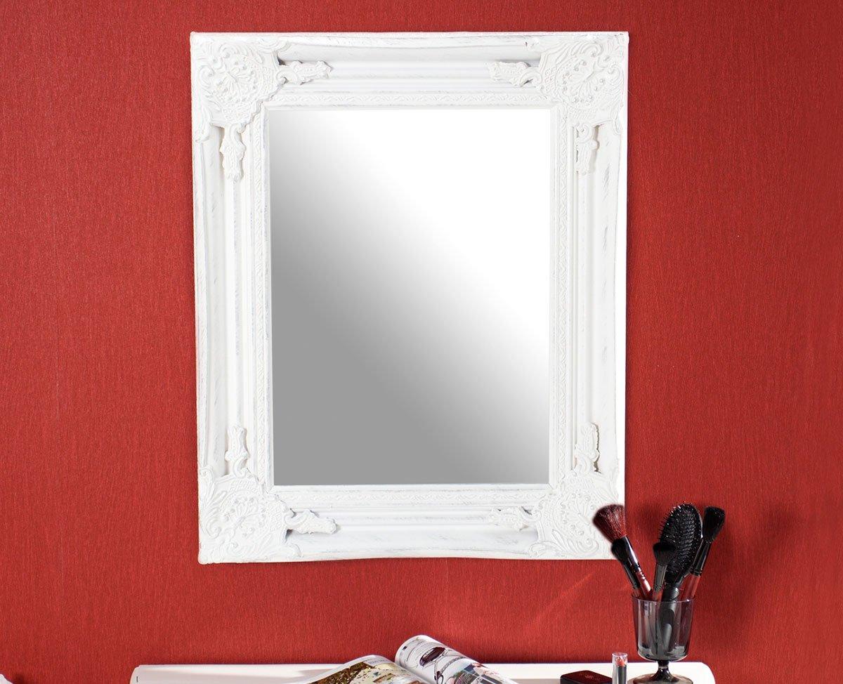 Spiegel Wandspiegel Flurspiegel Holz Holzrahmen 45x55cm ...