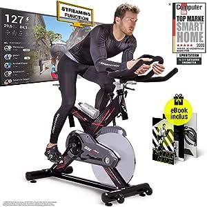 Sportstech bicicleta estática ergómetro SX400 con control por ...