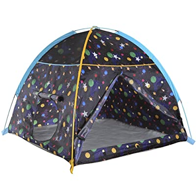 """Pacific Play Tents 41200 Kids Galaxy Dome Tent w/Glow in the Dark Stars - 48"""" x 48"""" x 42"""": Toys & Games"""