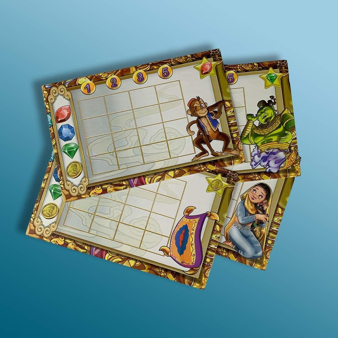 Átomo Games Aladino y la Cueva de Las Maravillas. Juego de Mesa: Amazon.es: Juguetes y juegos