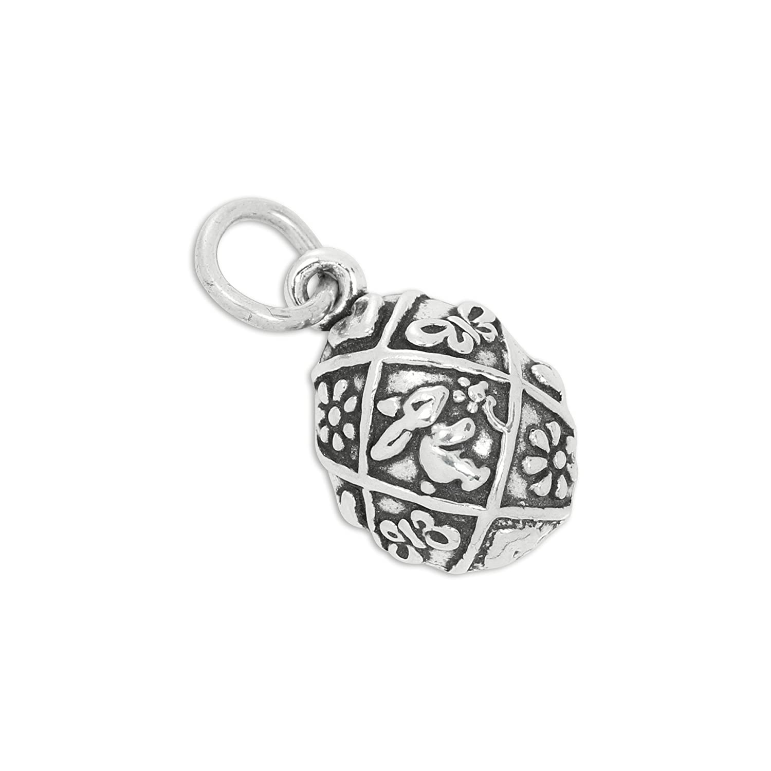 TheCharmWorks Sterling Silver Easter Egg Charm