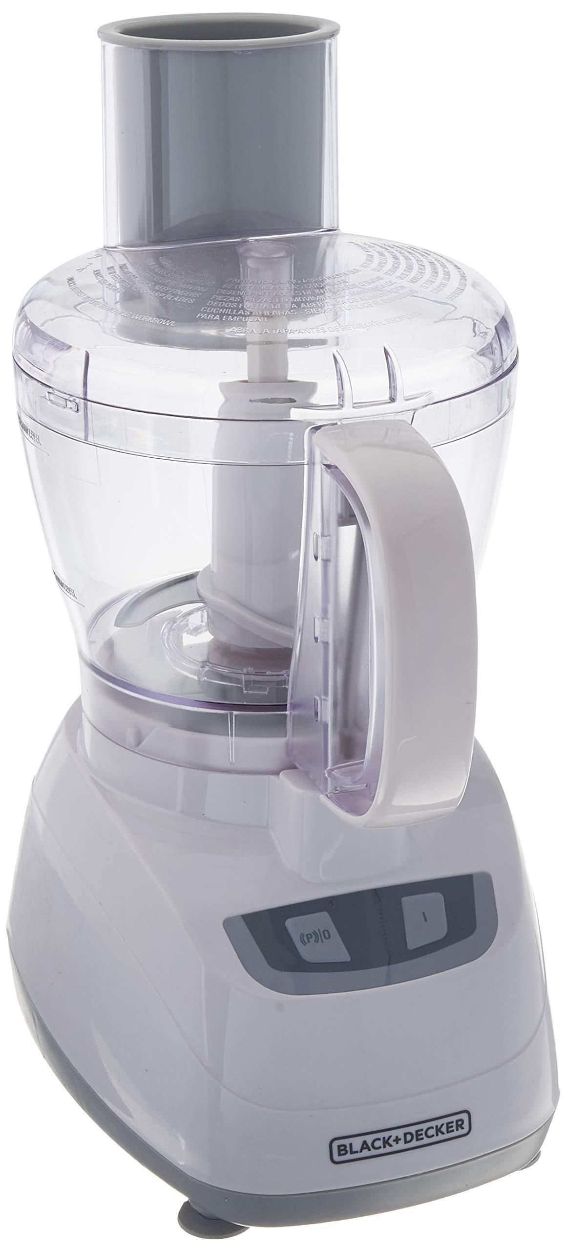 Black & Decker FP1700W Food Processor, White