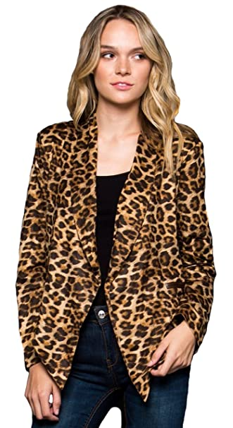 Amazon.com: GeeGee Mujer Leopardo de Chic gamuza sintética ...