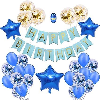 Amazon.com: Hermosas decoraciones de fiesta de cumpleaños ...