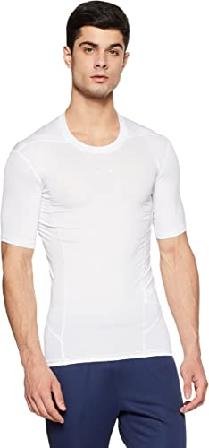 Under Armour Heat Gear Supervent Men's Round Neck Active Base Layer Shirt Men's T-Shirts at amazon