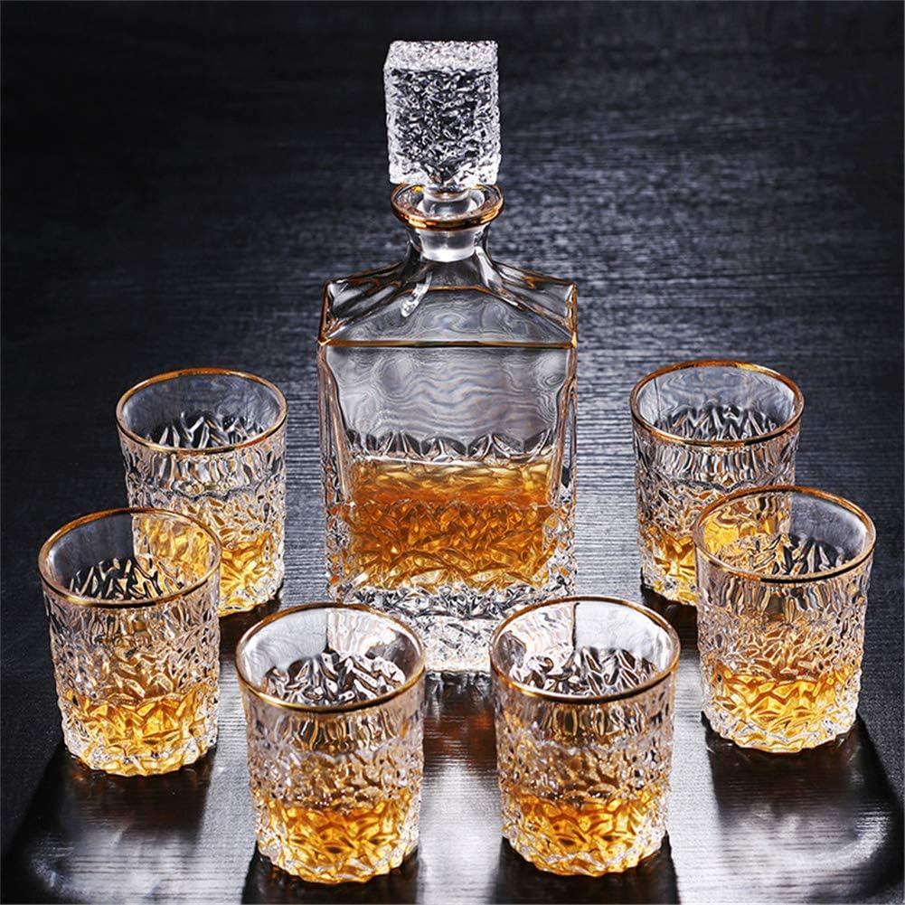 Honoen Set de Regalo de Jarra de Whisky con Proceso de ...