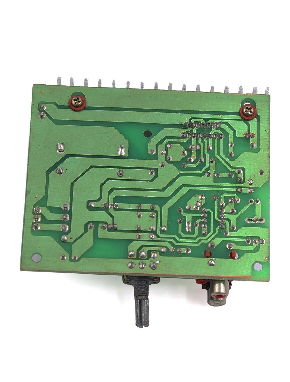eDealMax Moto 100W LFE tablero del amplificador de Audio subwoofer