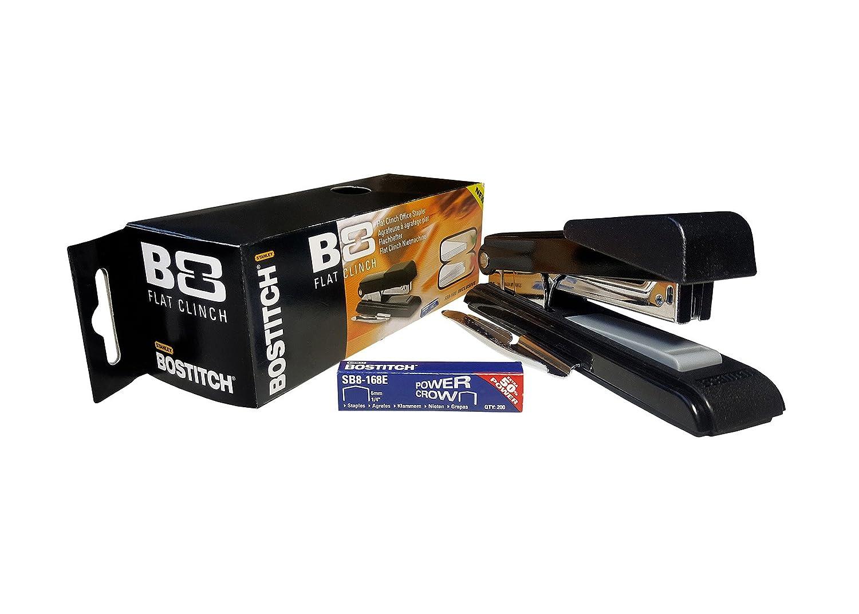 Heftkapazit/ät 30 Bostitch B8 New-Gen Tischhefter passende Klammern 11x6mm STCR211506Z;SB8-168AZ B8RNGN-RED