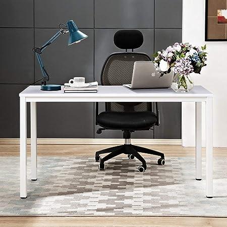 Oferta amazon: Need Escritorios 120x60cm Mesa de Ordenador Escritorio de Oficina Mesa de Estudio Puesto de Trabajo Mesa de Despacho, Blanco