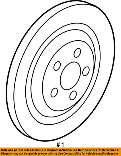 Amazon Com Genuine Jaguar C2d26352 Brake Disc Automotive