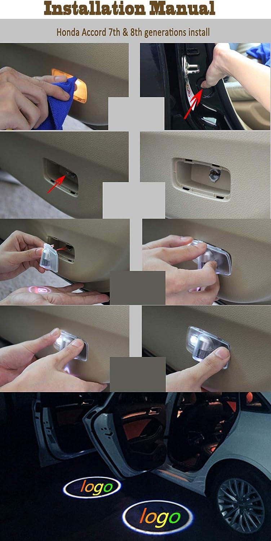 Honda Led Door Step Courtesy Logo Light Shadow Laser Projector ...