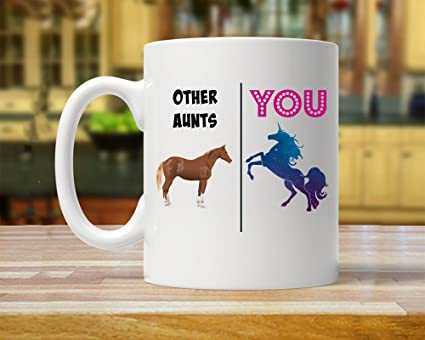 Amazoncom Aunt Gift Gift For Aunt Aunt Mug Unicorn Aunt