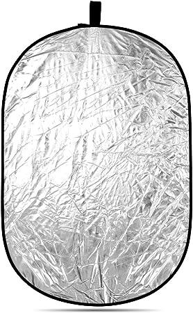 Neewer 5 In 1 Ovale 120x180cm Faltbare Professionelle Multi Scheibenlicht Reflektor Mit Durchlässig Silber Schwarz Gold