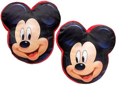 Cojin con forma 40cm velour de Mickey Mouse