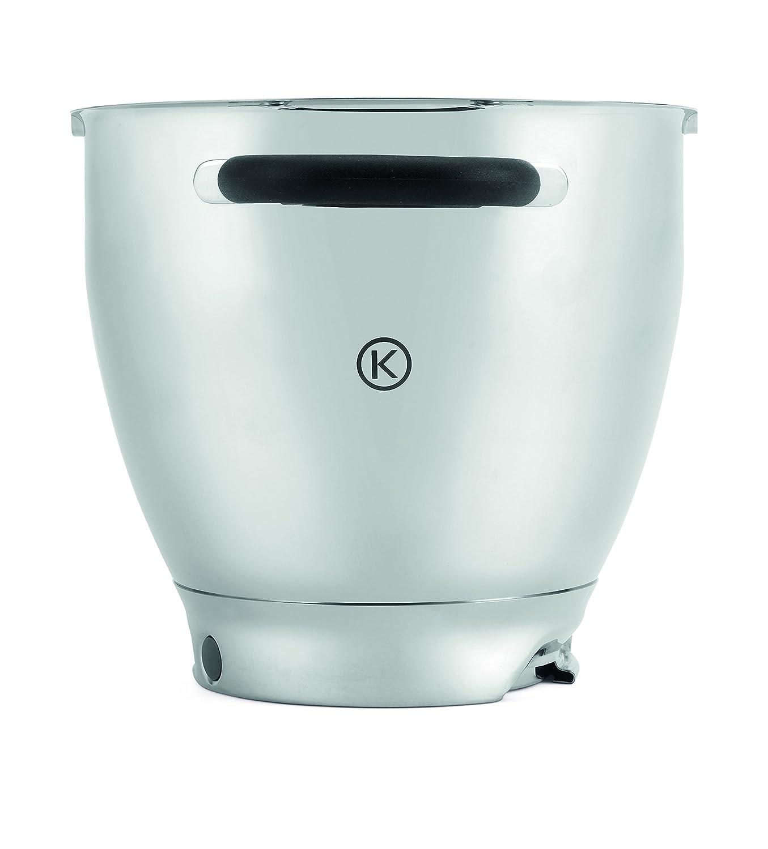 Kenwood Stainless Steel Bowl KAT911SS Cooking Chef 6.7Litres Dishwasher-Safe