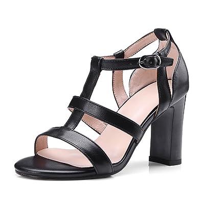e42e92844ff6 New-Loft Heels Sandals Heel Party Lady Dress Designer Shoes Big Size  Sandales