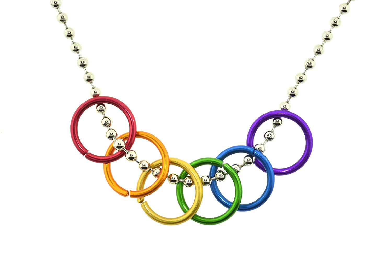 pandora heart necklace en pendants rainbow necklaces with estore
