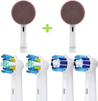Toyo cabezales de cepillo de dientes de reemplazo y cepillo de ...