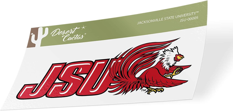 Jacksonville State University JSU Gamecocks NCAA Vinyl Decal Laptop Water Bottle Car Scrapbook (Sticker - 00005)