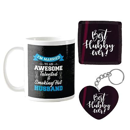 YaYa Cafe Birthday Gifts For Husband Awesome Talented Smoking Hot Coffee Mugs