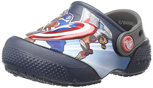 32dbf4bf34b73a crocs Fl Avengers Multi K Clogs  Buy Online at Low Prices in India -  Amazon.in