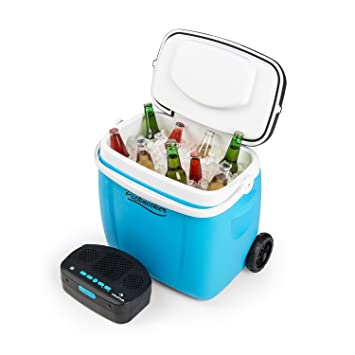 auna Picknicker Trolley • Nevera portátil con altavoz • Nevera-carrito • Altavoz Bluetooth flotante