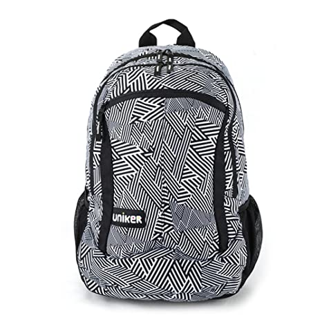 e87fa8d155bc Amazon.com  UNIKER Backpacks Bookbags for Boys Men College Middle High  School 18 Inch  Sports   Outdoors
