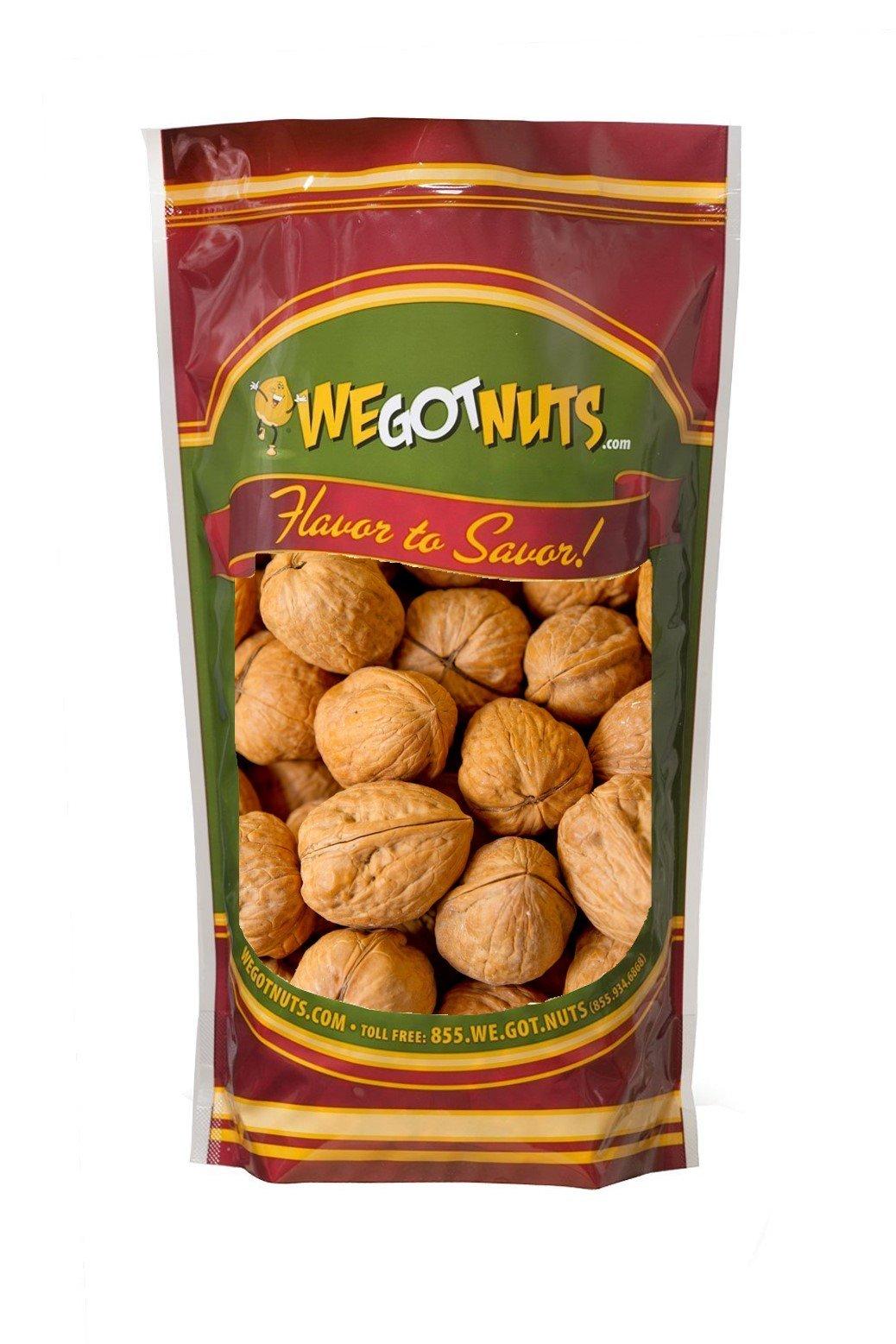 Walnuts In Shell , Jumbo , Premium - We Got Nuts (3 LBS.)