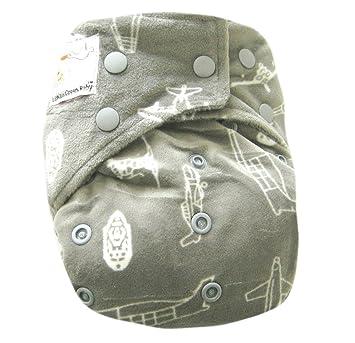 Amazon.com: Kawaii bebé de carbón de bambú un Tamaño pañal ...
