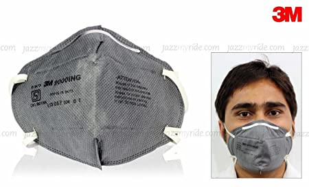 3M 9000ING Anti Pollution Mask, Pack of 10