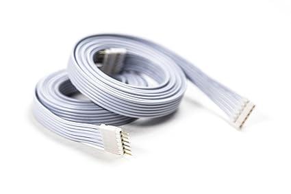 Tidssvarende Extension Cable for Philips Hue Lightstrip Plus (3 ft/1 m, 2 Pack ST-03