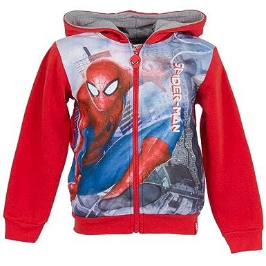 Marvel - Sudadera - Sudaderas - para niño Rojo Rosso 7-8 Años: Amazon.es: Ropa y accesorios