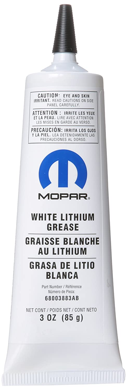 Genuine Chrysler Accessories 68003883AA White Lithium Grease - 3 oz. Tube