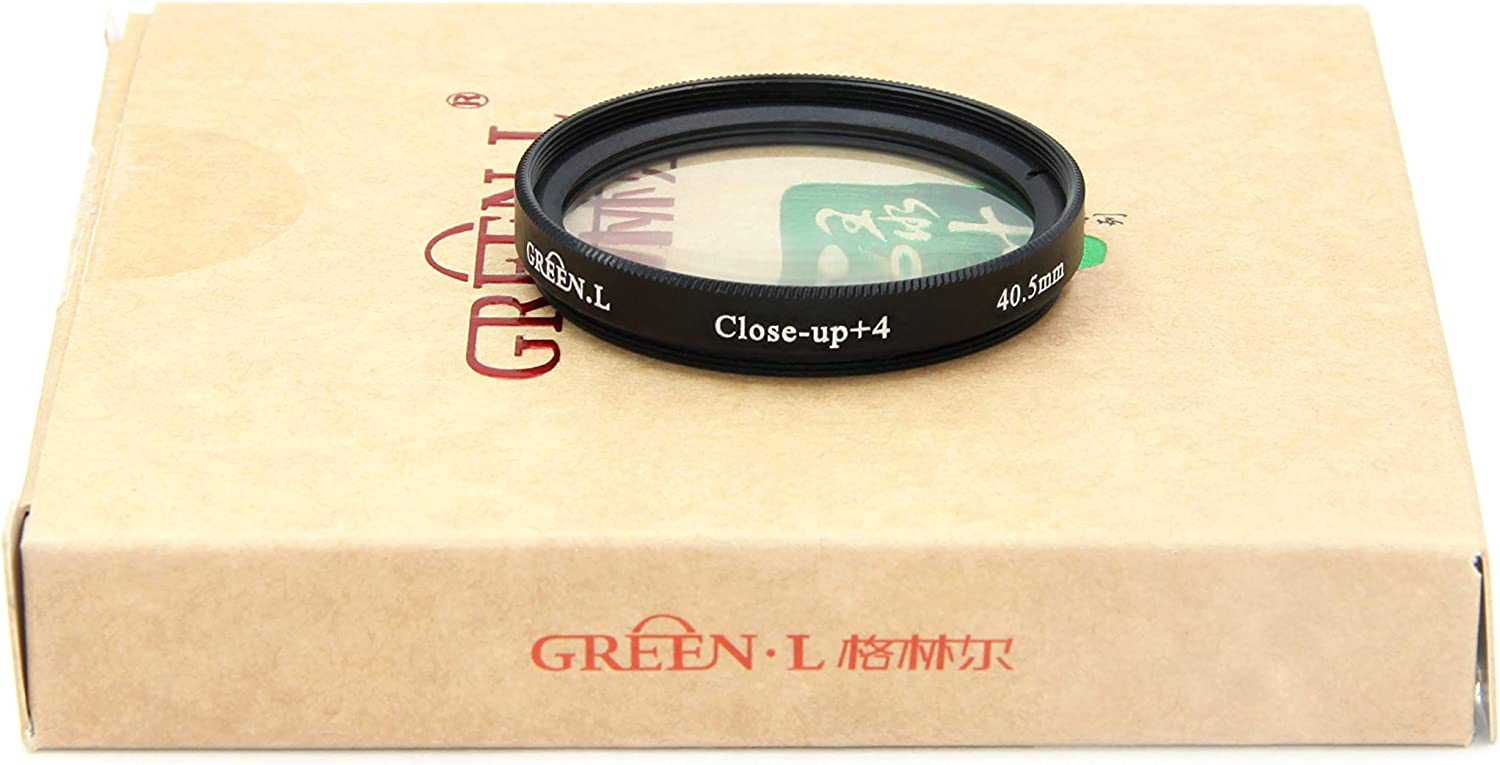 GREEN.L 52mm Close up Macro Filter 10 Diopter 10x Filter with Filter Pouch